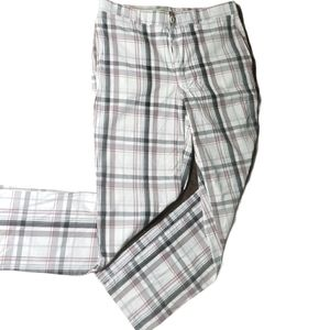 "GREG NORMAN SHARK Men's Plaid Pants Inseam 29"""